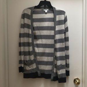 Old Navy Striped Cardigan